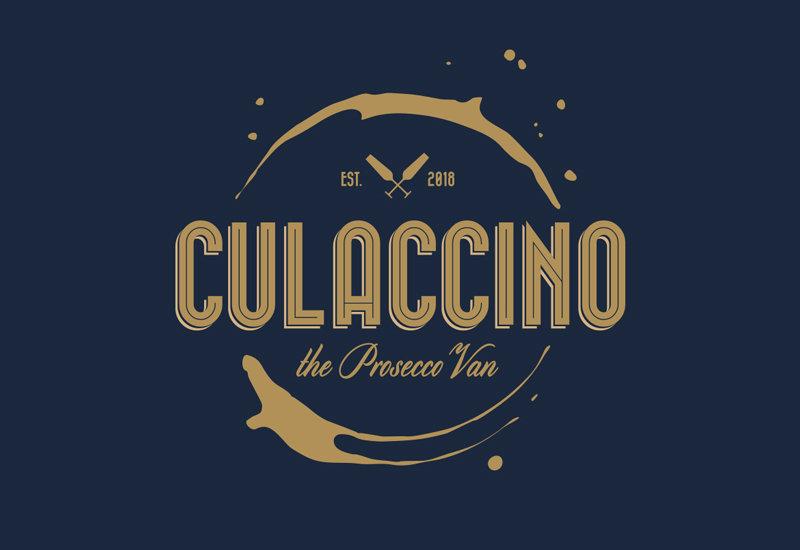 Culaccino the prosecco van logo